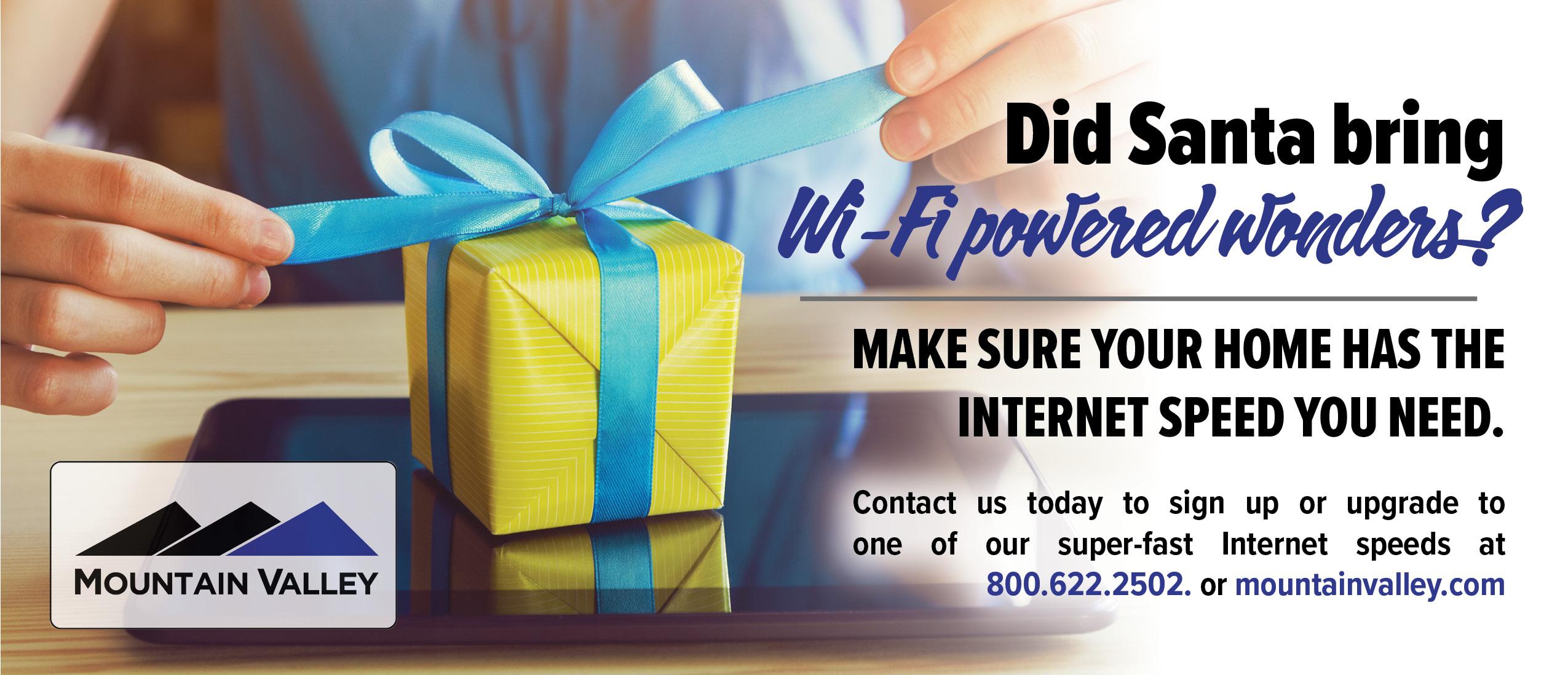 WiFi Powered wonders bill insert