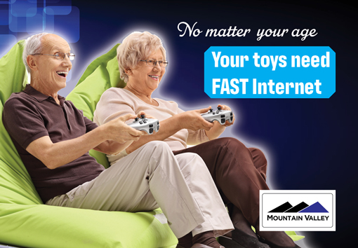 Toys need fast internet